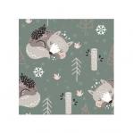 Printed Flannel Fleece, MC 7014