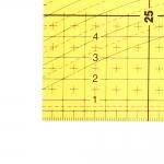 Läbikumav triikimisjoonlaud, taskujoonlaud, 30 cm × 10 cm, Kearing #3010