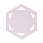 Clear View Hexagon Template set, YFC , RN-5560