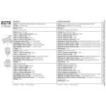 Loomateemalised Rag-narmastehnikas ja tepitud vaibad, Simplicity Pattern #8278
