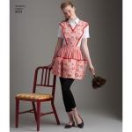 Naiste vintage põll, suurused: A (S-M-L), Simplicity Pattern # 8533