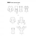 Naiste topid, Simplicity Pattern #S8921