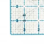 Tollmõõdustikus joonlaud, 4` x 4` tolli, Le Summit 34144