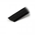 Puuvillapäällysteinen korsettinauha, rigliininauha, 12mm, musta, Hemline N4334B