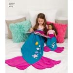 Laste, täiskasvanute ja 45cm pikkuse nuku kott-tekid, suurused: A (kõik suurused), Simplicity Pattern #8275