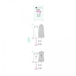 Kleit Nr.44-60, Burda Style Nr.7100