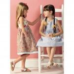 Girls` Dresses, Kwik Sew K0143
