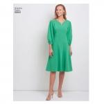 Naiste Imeliselt-Istuv kleit, Simplicity Pattern #S8831