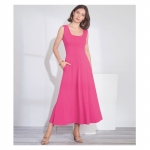 Misses`/Women`s knit Dress, Simplicity Pattern #S8874