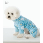 Dog Clothes In Three Sizes, Sizes: A (S,M,L), Simplicity Pattern #3939