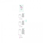 Kleit ja topp Nr.44-56, Burda Style Nr.6672