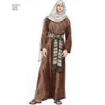 Täiskasvanute kostüümid, suurused: A (XS,S,M,L,XL), Simplicity Pattern #4213