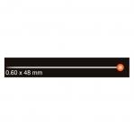 Klaaspea-nööpnõelad; 100 tk, 48 mm х ø0,6 mm, Clover (Jaapan), 2508