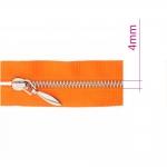 Alt avatavad 4mm hammastikuga metall-tõmblukud pikkusega 40cm