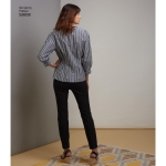 Misses`/Miss Petite Shirt, Simplicity Pattern #S8838