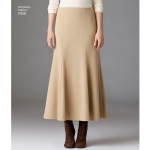 Naistele pluss-suuruses: Imeliselt Istuv: seelik, Simplicity Pattern #2058