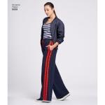 Naiste püksid, suurused: A (XS-S-M-L-XL), Simplicity Pattern #8698