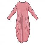 Naiste trikookaftanid, suurused: XXS-XS-S-M-L-XL-XXL, Simplicity Pattern #S8911