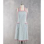 1940`s Vintage Aprons, Sizes: A (S-M-L), Simplicity Pattern #8232