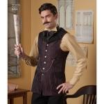Meeste särk ja vest, suurused: Simplicity Pattern # 8408