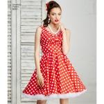 Naistele pluss-suuruses: kleidid, Simplicity Pattern #8051