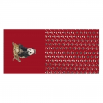 Panda, siil, kilpkonn veniv puuvillasegu kangas, 150x70cm, Stenzo textiles, 11936
