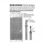 Линейка и шаблоны для раскроя< Tape Maker Pro, Duroedge KR-0921T