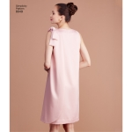 Naiste vintage 1960`ndate kolme käeauguga kleit, Simplicity Pattern #8049