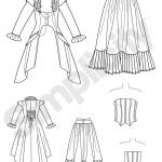 Naiste kostüüm, Simplicity Pattern #2172