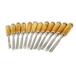 Puidu graveerimise, voolimise tööriistade komplekt, 13 tk, 20 cm, KL1878