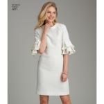 Preilide varrukavariatsioonidega kleit, Simplicity Pattern # 8511