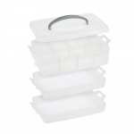 Stackable plastic box system 23 x 15,5 x 13 cm, Milward 2519016