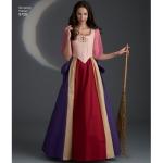 Women`s Costumes, Simplicity Pattern #8720