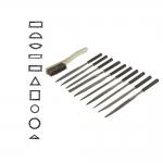 Пилочки, напильники, 10шт комплект, 18см, KL1282