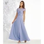 Naiste ja Petite-naiste eriliste sündmuste kleit, Simplicity Pattern #1195