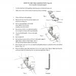 Nööri tald Janome toodetud overlokkidele (Type B)