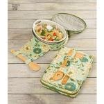 Karbid säilitamiseks, kinkekorvid ja kausikatted, Simplicity Pattern #1236