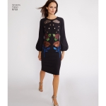 Women`s Cynthia Rowley Dress and Top, Simplicity Pattern #8733
