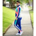 Mimi G-naiste trikoo jakk, püksid ja retuusid, Simplicity Pattern #8702