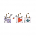 Bags, Coin Purse and Head Phone Case With Applique a cute;, Kwik Sew K0121