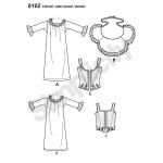 Naiste korsett-kostüüm, Simplicity Pattern #8162
