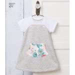 Mudilaste trikoo spordiriided Ruby Jean`s Closet`ilt, suurused: A (1/2-1-2-3-4), Simplicity Pattern #8270