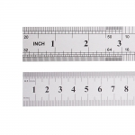 Stainless Steel Ruler with metric and inch scale, 30cm/12`inch