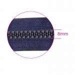 Plastic Zippers, closed end, 8 mm, 15 - 16 cm, Coats Opti