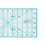 Tilkkutyö ja tikkausviivain tuumissa, 6` x 24` tuumaa (= 15cm x 60cm), Le Summit 34624