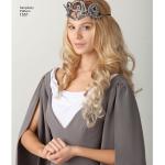 Naiste kostüümid, suurused: Simplicity Pattern #1551
