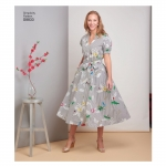 Misses` Miss Petite Pullover Dress, Simplicity Pattern #S8833