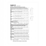 Naiste kleidid, Simplicity Pattern #S8912