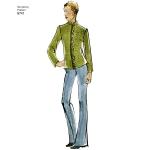 Women`s Lined Short Jackets, Sizes: A (XS-S-M-L-XL), Simplicity Pattern #8741