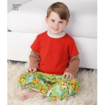 Toddlers` and Child`s Loungewear, Simplicity Pattern #1573